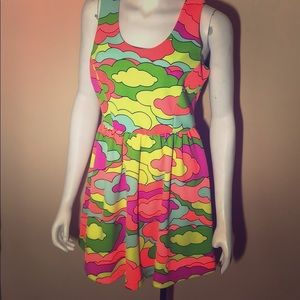 Nanettte Lepore Neon Cloud Dress